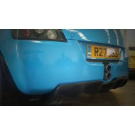 VX220 & Opel Speedster Rear Diffuser